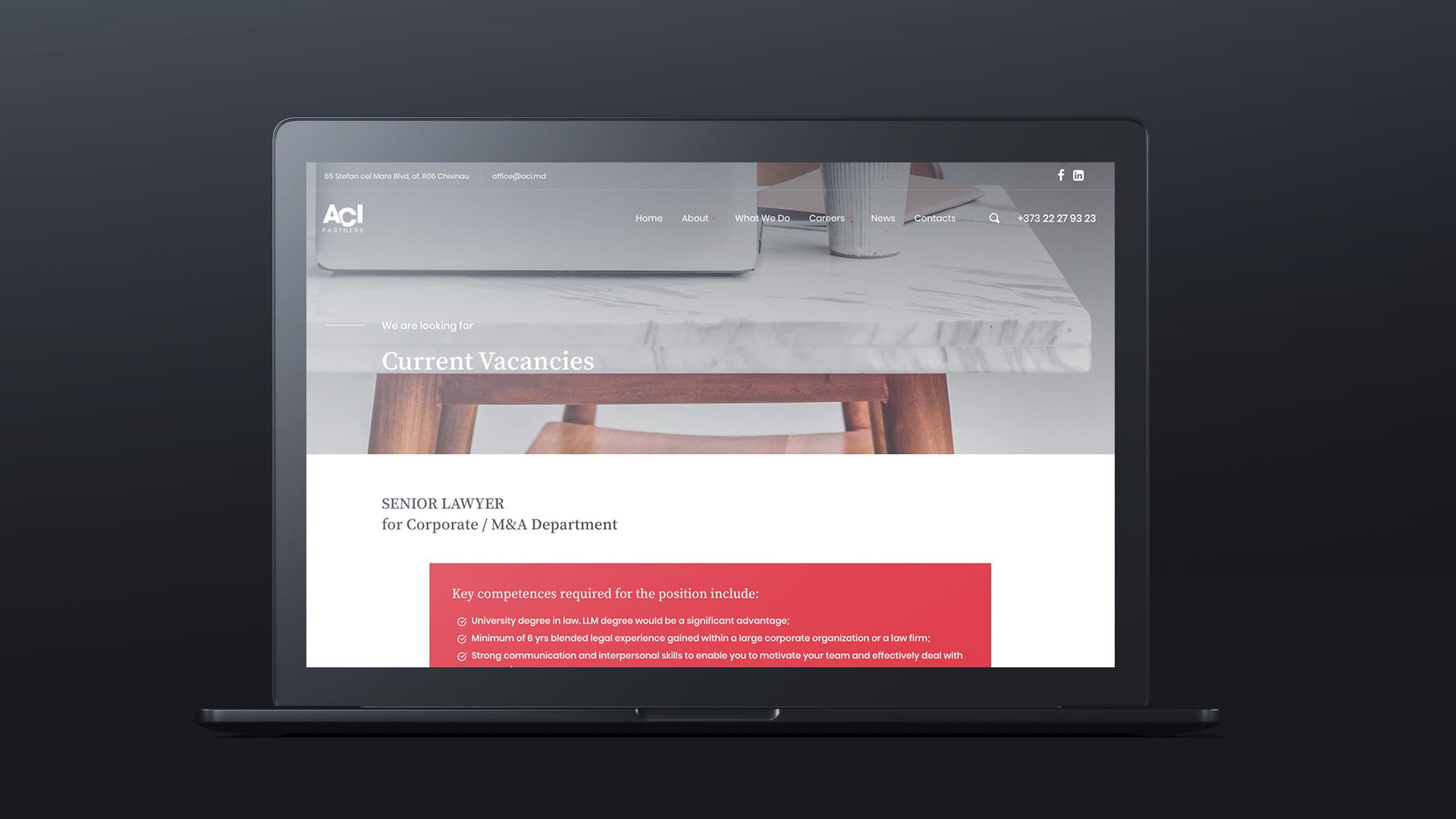 website corporativ